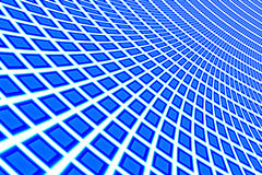 Background blue and white rectangle Stock Photography