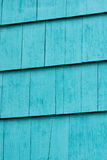 Background. Blue wooden plank fence background Stock Photo