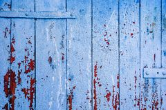 Background of blue wooden surface royalty free stock photography