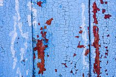 Background of blue wooden surface stock images