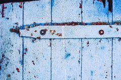 Background of blue wooden surface royalty free stock photos