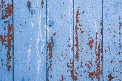Background of blue wooden surface royalty free stock image