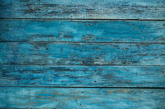 Background blue wooden wall Stock Image