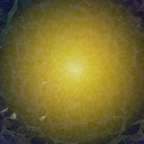 Background - blue yellow mosaic or net Royalty Free Stock Photography