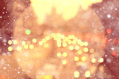 background blur bokeh  city road Stock Images