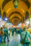 Background Blur Istanbul Grand Bazaar Royalty Free Stock Photo