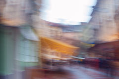 Background blur street without focus Royalty Free Stock Photo