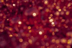 Background blur texture bokeh, purple, yellow, pink, six sides, round. Defocused abstract red christmas background. Background blur texture bokeh, violet, yellow royalty free illustration