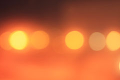 Background with a blur of yellow light Stock Photography