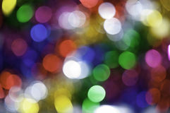 A background, with blurred balloons. This image shows a background of blurry light points Royalty Free Stock Image
