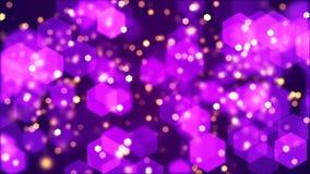 Background of blurry hexagonal bokeh. Abstract Background with blurry hexagonal bokeh Stock Image