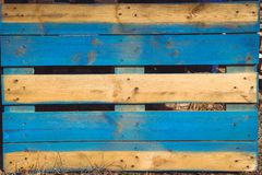 The background boards, pallets old multi colored.. royalty free stock photo