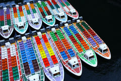 background of boats Stock Image