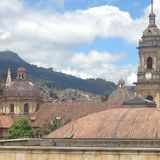 Background Bogota stock photography