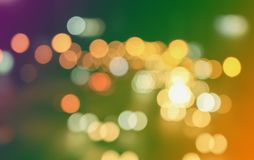 Background bokeh circle is abstract. Sparkling glitter Christmas Stock Photos