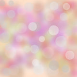 Background with bokeh Royalty Free Stock Photos