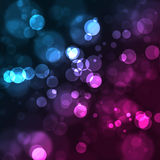 Background with bokeh effect Royalty Free Stock Images