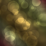 Background with bokeh effect Royalty Free Stock Photos