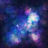Background with bokeh effect. Vector background with bokeh effect, circles Royalty Free Stock Photo