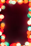 Background with bokeh lights Royalty Free Stock Photo
