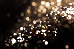 Background of bokeh lights Royalty Free Stock Images