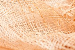 Background with boll and strow in gold Royalty Free Stock Image