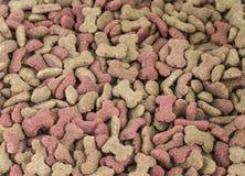 Background of bone shaped dog treats.  stock image