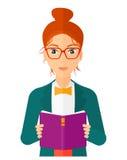 background book created ps reading woman Στοκ φωτογραφία με δικαίωμα ελεύθερης χρήσης