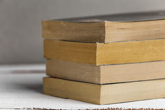 Background from books. Books close up. Books on the shelf. Royalty Free Stock Images