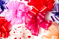 Background from bows Royalty Free Stock Images