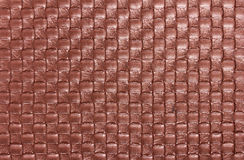 Background of braid textile leather texture Stock Images