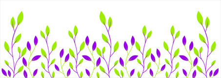 Background with branches Royalty Free Stock Image