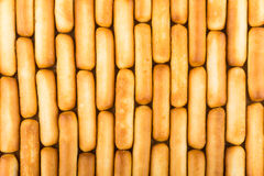 Background from breadsticks Stock Photos
