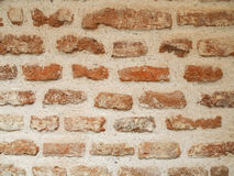 Background brick and cement Royalty Free Stock Photography