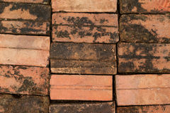 Background of brick floor texture. Stock Image