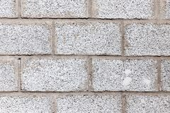 Background of brick. Photo of an abstract texture Stock Photography
