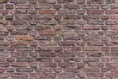 Background brick red olf texture wall pattern. Pattern of bricks brown wall royalty free stock images