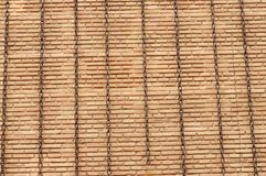 Background with brick wall and chains Stock Photography