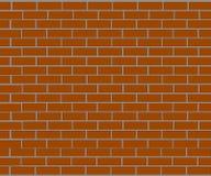 Background of brick wall made of brown bricks Royalty Free Stock Image