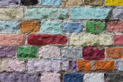 Background of brick wall Stock Images