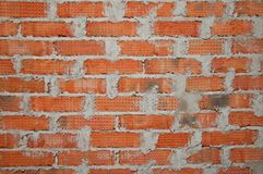 Background of brick wall. royalty free stock image