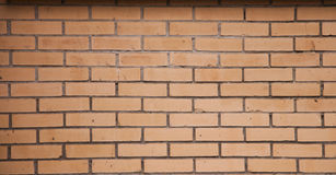 The background a brick wall. The brick wall background - stock photo Royalty Free Stock Images