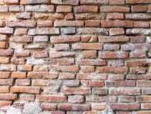 Background of brick wall. Texture Stock Photo