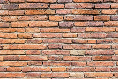 Background of brick wall texture.  Royalty Free Stock Photos