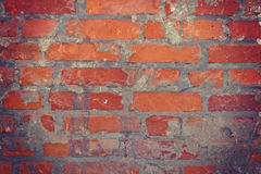 Background of brick wall. Stock Photo