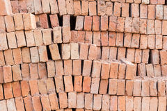 Background of brick wall. Texture Stock Images