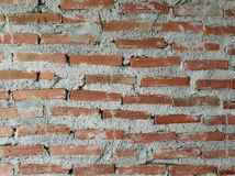 Background of brick wall texture. stock photography