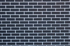 Background of brick wall texture. Black and white wall of brick wall background Royalty Free Stock Photos