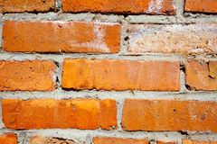 Background of brick wall texture Royalty Free Stock Photos