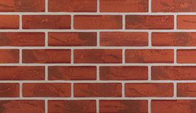 Background of brick wall texture. Detailed background of red brick wall texture Stock Photography